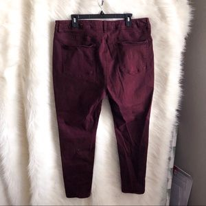 American Eagle Outfitters Jeans - 🆕 American Eagle Outfitter Maroon Hi Rise Jegging